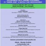 """I PATRIMONI UNESCO: OPPORTUNITÀ PER IL TURISMO SOSTENIBILE E I """"GREEN JOBS"""" A NAPOLI E NEL MEZZOGIORNO"""