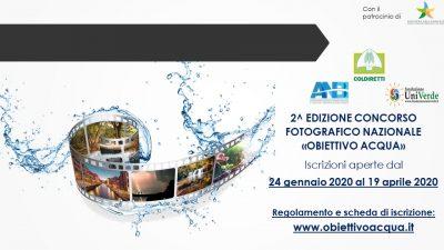 Concorso Fotografico Naz. Obiettivo Acqua_Ed 2020