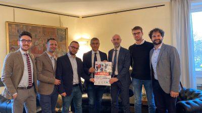 Consegna 10.000 firme a D.G. Comunicazione Ministero Salute, Alfredo D'Ari