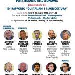 """""""AGRICOLTURA E TERRITORIO: LA DISTINTIVITÀ DELL'AGROALIMENTARE ITALIANO PER IL RILANCIO DELL'ECONOMIA"""" E PRESENTAZIONE 10° RAPPORTO """"GLI ITALIANI E L'AGRICOLTURA"""": DIRETTA STREAMING PHIGITAL, VENERDÌ 26 GIUGNO, DAL MERCATO DI CAMPAGNA AMICA AL CIRCO MASSIMO."""