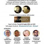 #Turismo culturale e sostenibile: Raffaello Sanzio e le Marche, #IoViaggioItaliano: diretta streaming dalle Scuderie del Quirinale, venerdì 24 luglio