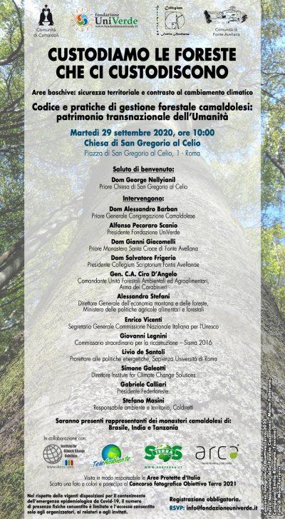 Locandina 29 settembre 2020