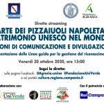 L'Arte dei Pizzaiuoli Napoletani Patrimonio Unesco nel mondo: diretta streaming, venerdì 30 ottobre, ore 15:00