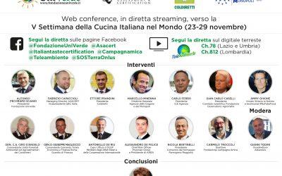 Programma, Web conference, 19 novembre 2020 - NoFakeFood
