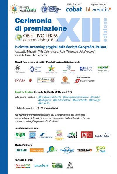 CERIMONIA PREMIAZIONE OBIETTIVO TERRA 2021 (22-04-21)
